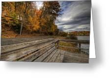 Fall In Mill Creek Park Greeting Card