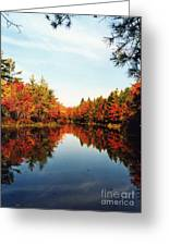 Fall In New England Greeting Card