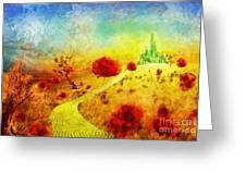 Fall In Oz Greeting Card