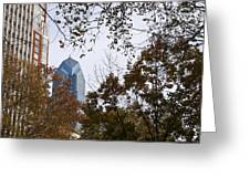 Fall In Philly Greeting Card