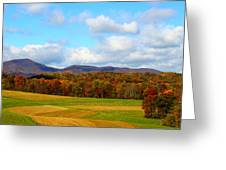 Fall In Rocky Mount Greeting Card