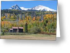 Fall In Summit County Greeting Card