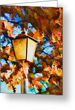Fall In The Air Greeting Card