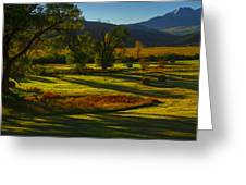 Fall In The Fields Greeting Card