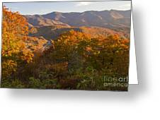 Fall In The Smoky Mountains Greeting Card
