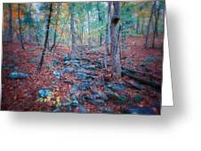 Fall In The Woodlands Greeting Card