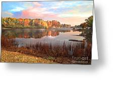 Fall In Traverse City  Greeting Card