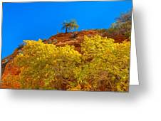 Fall In Zion Greeting Card
