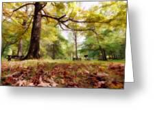Fall Iv Greeting Card