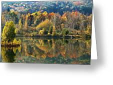 Fall Kaleidoscope Greeting Card