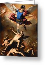 Fall Of The Rebel Angels Greeting Card