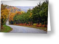 Fall On Fox Hollow Road Greeting Card