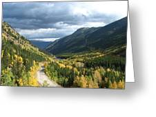 Fall On Guanella Pass Greeting Card