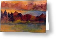 Fall On Lake Champlain Greeting Card