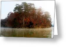 Fall On Melton Hill Lake Greeting Card