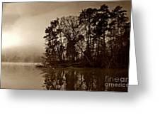 Fall On Melton Hill Lake V Greeting Card