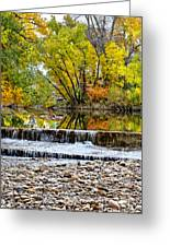 Fall On The Poudre Greeting Card by Baywest Imaging