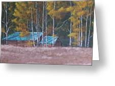 Fall On The Ranch Greeting Card