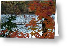 Fall On The Shetucket Greeting Card