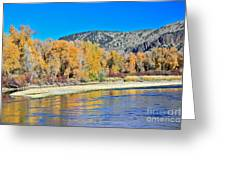 Fall On The Snake River Greeting Card
