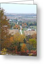 Fall Overlook Greeting Card
