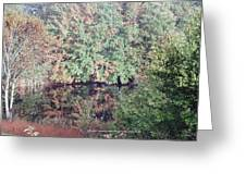 Fall Reflection Greeting Card