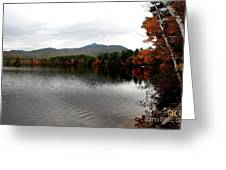 Fall Reflection II Greeting Card