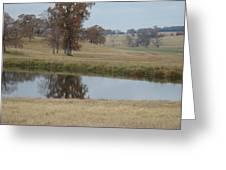 Fall Reflection Greeting Card