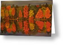 Fall Reflections Greeting Card