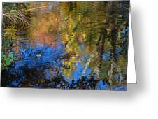 Fall Reflexion Greeting Card