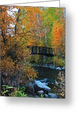 Fall River Greeting Card by Dana Kern
