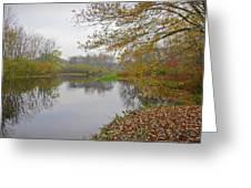 Fall River Park Greeting Card