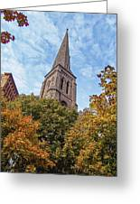 Fall Steeple Greeting Card
