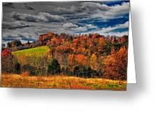 Fall Storm Greeting Card