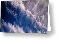 Fall Streak Clouds 5 Greeting Card