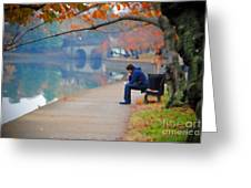 Fall Thoughts Greeting Card