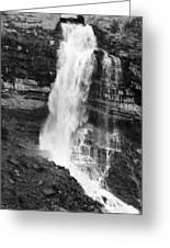 Waterfall Under The Bridge Greeting Card