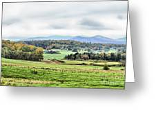Fall Vermont Landscape Greeting Card
