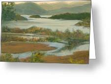 Fall View From Boscobel Greeting Card