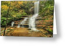 Fall Water Greeting Card