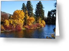 Fall Leavenworth Washington Greeting Card