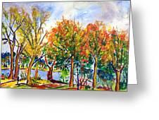 Fall2014-12 Greeting Card by Vladimir Kezerashvili