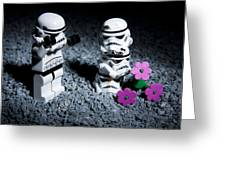Fallen Friends Greeting Card