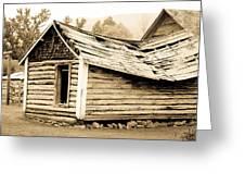 Fallen Homestead II Greeting Card