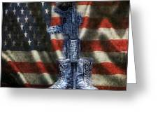 Fallen Soldiers Memorial Greeting Card