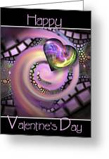 Falling In Love - Valentine Card / Poster Greeting Card by Roger Snyder