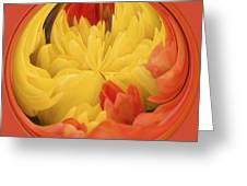 Falling Into A Flower Greeting Card