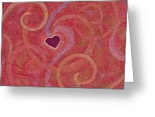 Falling Into Love Greeting Card
