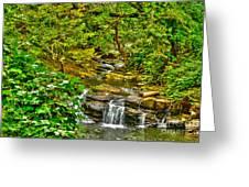Falling Into Nantahala Greeting Card