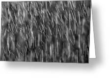 Falling Rain 03 Greeting Card
